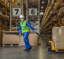 Impact and Load-resistant Resin Flooring for Warehouses